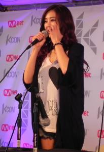 G.NA at KCON 2012, LA