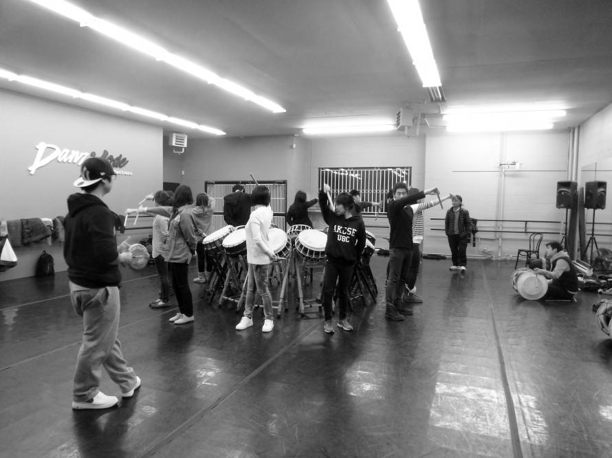 Cheondoong Team Practice