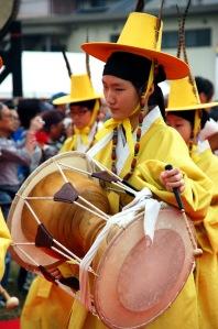 Le Janggu, tambour folklorique coréen