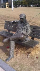 Sculpture park near BEXCO