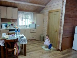 Inside Lavender Cabin