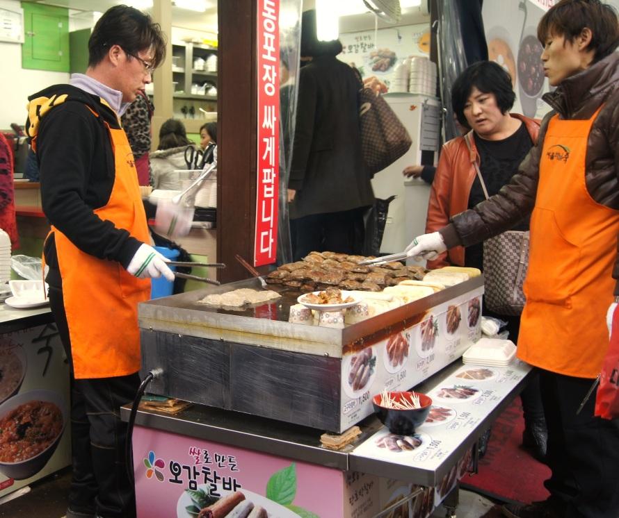 barley dumpling vendors
