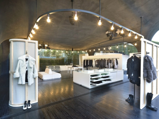 organic buiding boutique store seoul