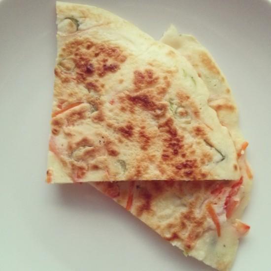 vegetarian pajeon recipe (korean pancakes)