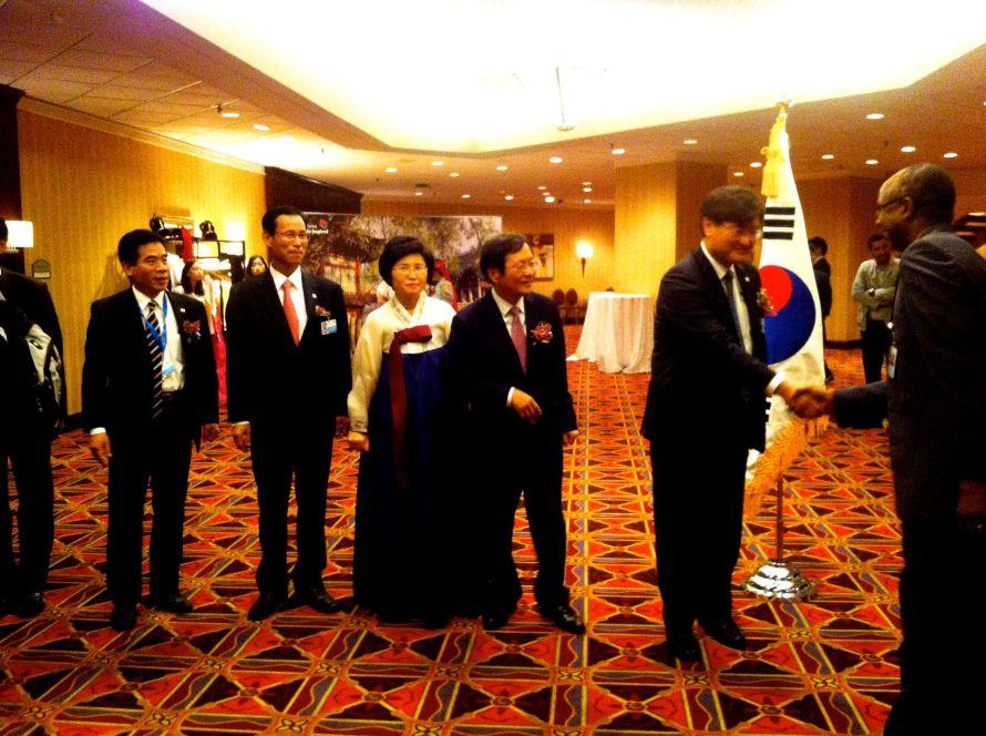 La délégation de Corée
