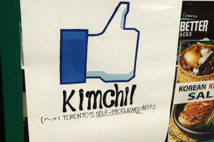 kimchi!