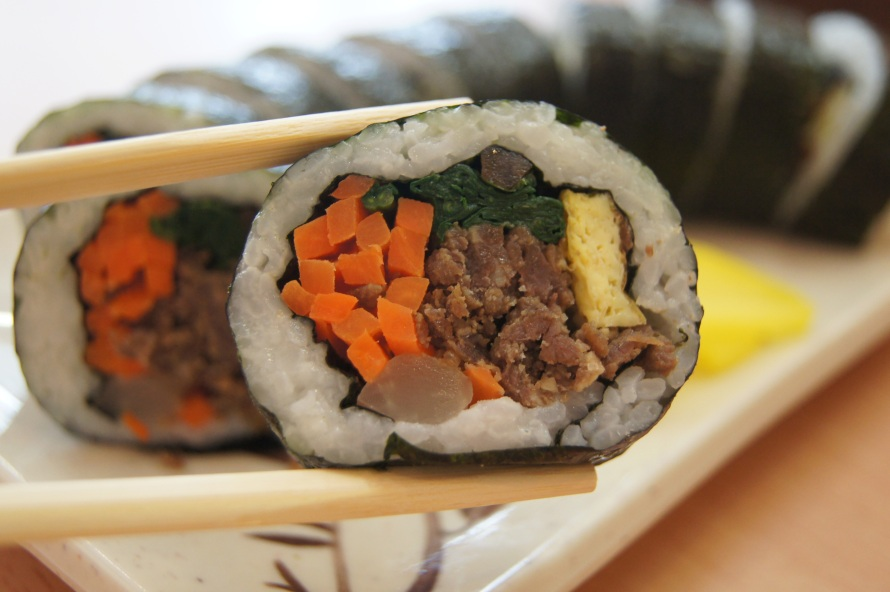 Art of kimbap