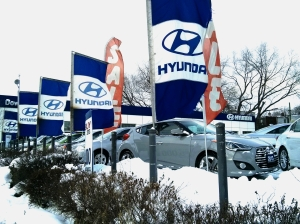 This Hyundai dealership is just one of many in the metro Toronto area -- there are countless dealerships all across Canada.