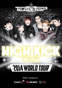 Teen Top is hoping to hit a number of Canadian destinations on their world tour through crowd funding.  Let's hope they come!