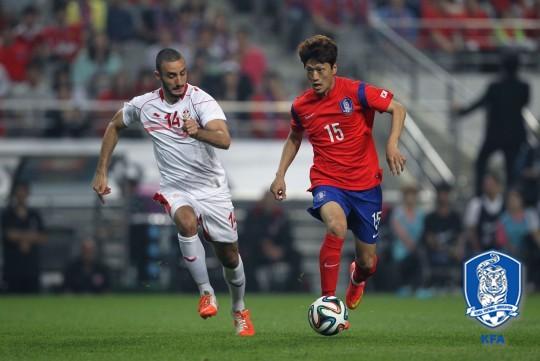 Korea vs Tunisia May 28, 2014