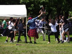 Certains ne pouvait pas attendre la finale et voulait commencer le K-pop dès le début de l'après-midi!