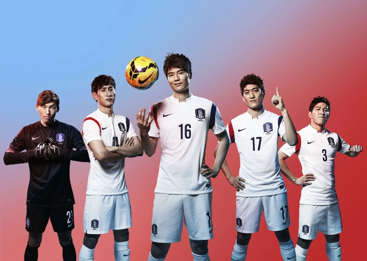 South Korea 2014 World Cup Away Kit (1)
