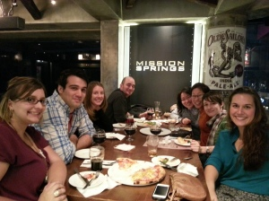 Customers enjoying themselves at the Springs Tap House in South Korea.