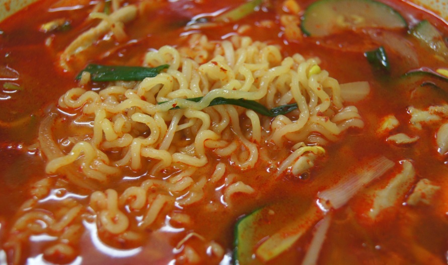 Ramyun noodles