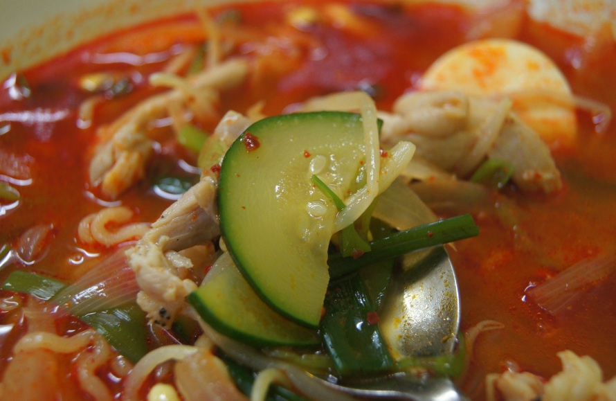 Ramyun vegetables