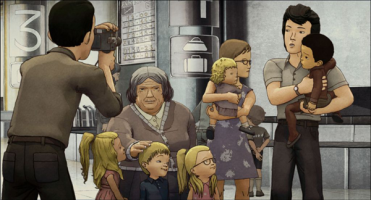 Approved for Adoption follows the story of a Korean boy who is adopted by a Belgian family. The animation looks splendid.