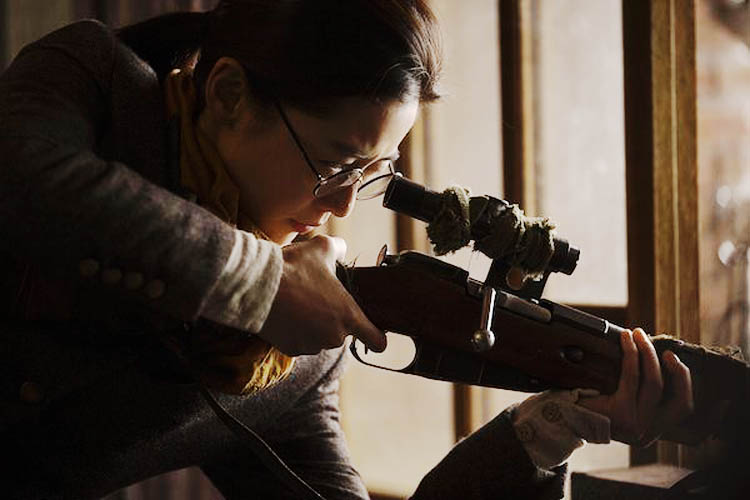 Jun Ji-Hyun (known to Western audiences as Gianna Jun) plays a sharpshooter in the Korean period thriler Assassination. It is being shown at the 2015 Fantasia Film Festival in Montreal.