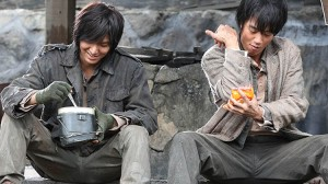 Lee Min-ho, left, and Kim Rae-won in the Korean film Gangnam Blues, which will be shown at the 2015 Fantasia International Film Festival in Montreal.