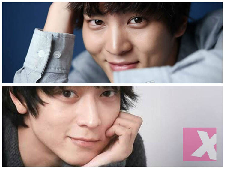Many Korean film fans think that Joo Won top, and Kang Dong-won look like they could be brothers. Photo compilation is from web site xiahpop.com