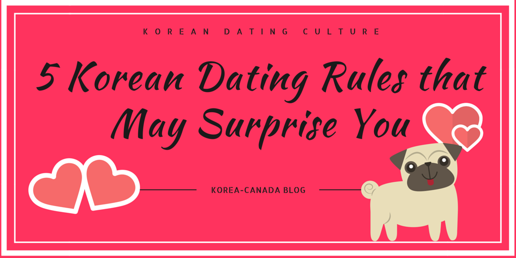 Korean dating rules